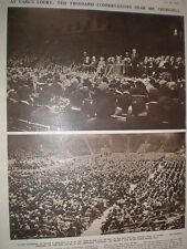 Photo article Tory Conservative Party Conference Earl's Court London 1949