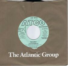 JOHN ENTWISTLE  Talk Dirty  promo 45  THE WHO