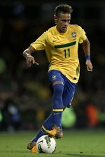 POSTER NEYMAR SANTOS BRASILE BARCELLONA BARCA MESSI SOCCER FOOTBALL CALCIO #7