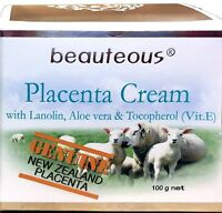 Natural Placenta Face Cream with Aloe Vera Nourishing Anti-Aging All Skin Types