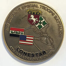 B17 2nd Brigade Special Troops Battalion OIF Challenge Coin