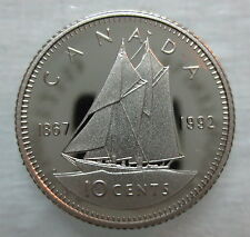 1867-1992 CANADA 10 CENTS 125th CONFEDERATION ANNIVERSARY PROOF COIN