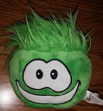 Disney Parks Club Penguin Green Puffle Face Stuffed Animal Plush Toy