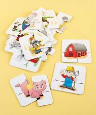 Learning Journey's My First Match it Game Puzzle 15pc. Set - On the Farm Ages 2+