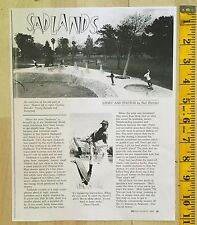 G&S NEIL BLENDER BILLY RUFF JIM GRAY SKATEBOARD POOL ARTICLE TWS MAGAZINE 83