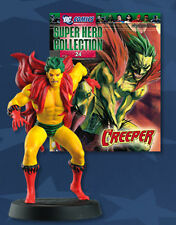 FIGURA DE PLOMO DC SUPER HERO COLLECTION 24 CREEPER + REVISTA