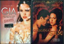 ANGELINA JOLIE: Gia & Original Sin - Sexy Unrated Versions - NEW 2 DVD