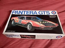 1/25 Entex De Tomaso Pantera GTS # 9035 Race Car OB Molded in Red