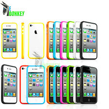 CUSTODIA CASE COVER BUMPER PER APPLE IPHONE 4 4S TPU SILICONE
