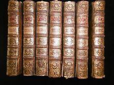 LETTRES DE MADAME DE MAINTENON-ENSEMBLE COMPLET EN 7 VOLUMES RELIES-1756-