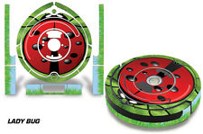 Skin Decal Wrap For iRobot Roomba 650/655 Vacuum Stickers Accessory Kit LADYBUG