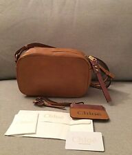 "Authentic Chloe ""Sam"" Caramel Camera Shoulder Bag"