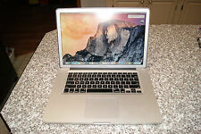 ANTIGLARE MACBOOK PRO 15 i7 2.2 GHZ QUAD, 1Gb VIDEO, 2TB HD,16gb,2016 LOGICBOARD
