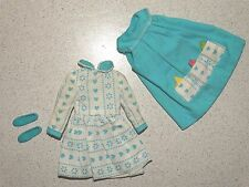 Barbie:  Skipper NICE Vintage LET'S PLAY HOUSE Outfit w/ALL CLOTH HANKIES!
