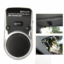Bluetooth Handsfree Car Kit Speakerphone Solar Charge Dual Mobile Phone Connect