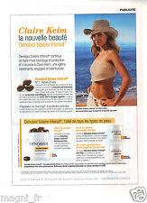 Publicité 2014 - OENOBIOL Solaire Intentif présenté par Claire Keim