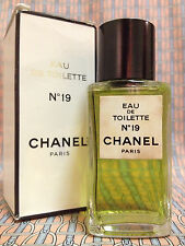 Vintage 1980s Chanel No 19 Eau de Toilette 1.7 oz 50 ml FULL Boxed OLD FORMULA