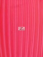 """SHINY PLEATED PLISSE SATIN FABRIC - Fuchsia - 59"""" WIDTH SOLD BY THE YARD"""