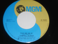 """TOMPALL GLASER BROTHERS NM Pass Me On By 45 Texas Law Sez MGM 14701 vinyl 7"""""""