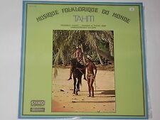 MUSIQUE FOLKLORIQUE DU MONDE - TAHITI  LP