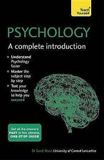 PSYCHOLOGY A COMPLETE INTRODUCTION: TEACH YOURSELF -DR SANDI MANN - NEW