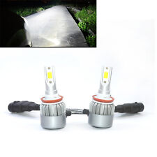 2x LED 80W 8000lm Headlight 9006 HB4 Kit Beam 6000K Bulbs HID Replacement Lamp