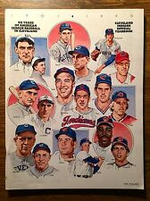 1990 Cleveland Indians Official Baseball Yearbook - MINT CONDITION!!!