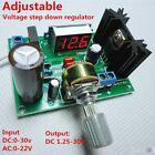 LED display LM317 Adjustable Voltage Regulator Step-down module AC/DC to 5v 12v