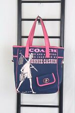 Coach Bonnie Cashin Canvas Travel Tote Bag # 13530