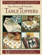Four Seasons of Calendar table toppers