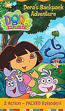 Dora The Explorer - Backpack Adventure Game Interactive DVD Game [Interactive DV
