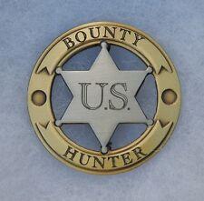 U.S. Bounty Hunter Old West Replica Lawman Badge Deputy PH091