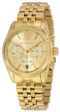 Michael Kors MK5556 Lexington Champagne Dial Gold Tone Chronograph Women's Watch
