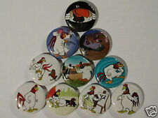 Foghorn leghorn Collectable 10 NEW PINBACKS Comic Cartoon Movie rooster kids fun