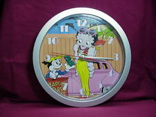 Betty Boop WALL CLOCK CAR DESIGN