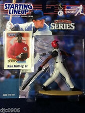 KEN GRIFFEY JR. 2000 SLU EXTENDED SERIES STARTING LINEUP CINCINNATI REDS FIGURE