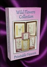 Carte-making fleur sauvage collection - 270 images et origines sur dvd