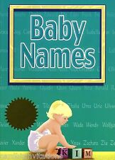 Baby Names Book Origin and Meanings from around the World  New