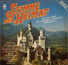 Ronny Stimme der Heimat-Die schönsten deutschen Volkslieder [LP]