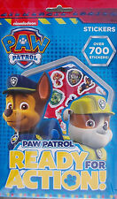 Nickelodeon Paw Patrol Characters Set of 700 Stickers 9 Sheets Activity Set Kids