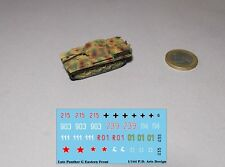 New 1/144 WWII German Beobachtungspanzer Panther camo /w decal
