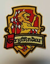 Harry Potter Gryffindor embroidered Patch 3 1/2 inches tall