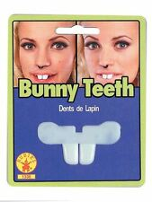 BUNNY costume NOVELTY TOY front TEETH easter halloween ONE SIZE FITS MOST