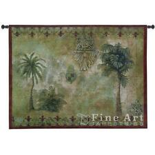 Masaola I Wall Tapestry Tropical Palms Trees Picture