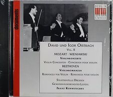 Mozart, Beethoven, Wieniawski, David & Igor Oistrach, New CD