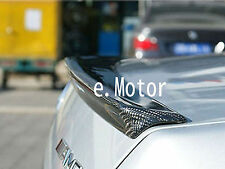 Carbon Rear Trunk Spoiler for Mercedes W212 A Type  2010+ E350, E550, E63