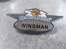 DISNEY SOARIN' OVER CALIFORNIA PIN PILOT WINGS WINGMAN PERSONALIZED PIN