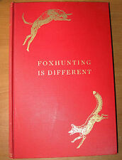 Foxhunting Is Different, 1938, Samuel Henry, Paul Brown, LE, Derrydale, Horses