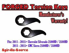 "2011-15 Chevy Silverado GMC Sierra 1500HD 2500HD 3500HD 1""-3"" Torsion LIFT KEYS"