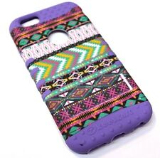 for iPhone 6 6s Tribal Arrow Pink Purple Hard & Soft Hybrid Rubber Koolkase Case